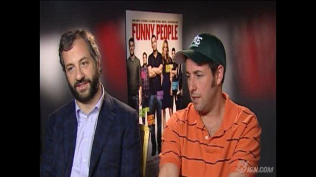Funny People Movie Interview - Funny People Interview