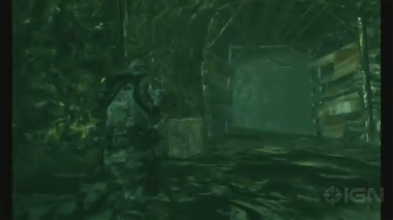 Resident Evil Revelations - Fighting in the Snow