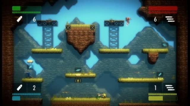 Bionic Commando Rearmed Xbox Live Gameplay - Multiplayer