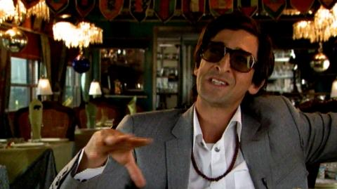 "The Darjeeling Limited (2007) - Interview Adrien Brody ""On working on the film with Wes Anderson"""