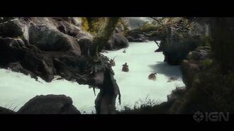 The Hobbit The Desolation of Smaug Clip - Barrel Scene Motion Capture
