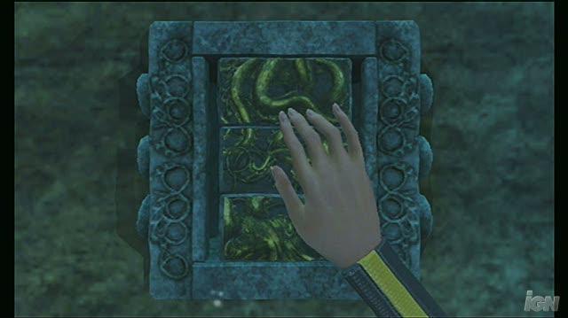 Tomb Raider Underworld Nintendo Wii Gameplay - Swimming With the Jellyfish