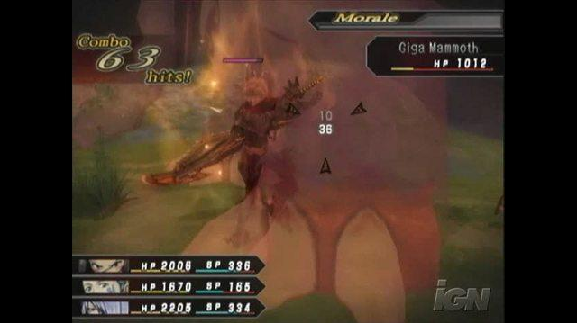 .hack G.U. Vol. 2 Reminisce PlayStation 2 Gameplay - Beast Awakening 2