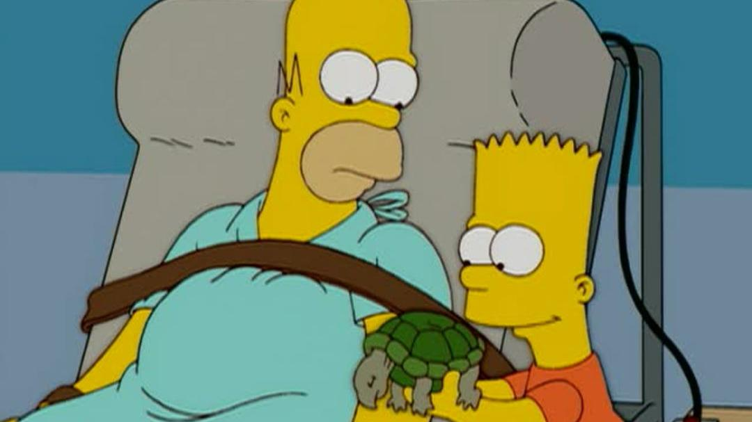 "The Simpsons Season 16 Blu-ray DVD - ""Roofer"" Clip"