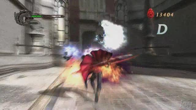 Devil May Cry 4 PlayStation 3 Trailer - Lightning Crashes (HD)