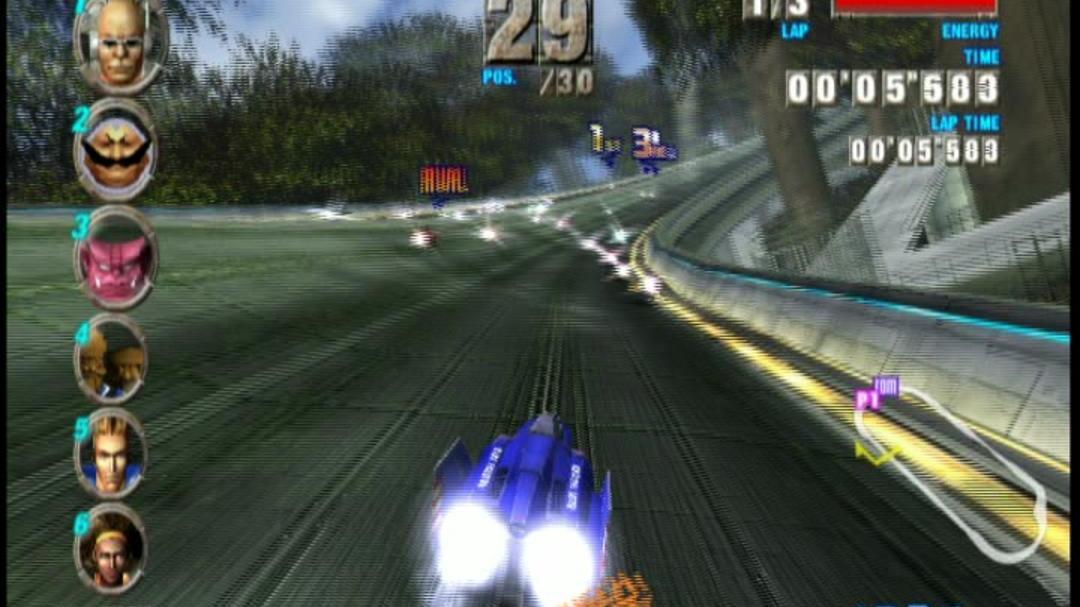 F-Zero GX Gameplay