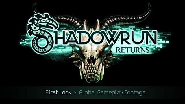 Shadowrun Returns Alpha Gameplay Commentary