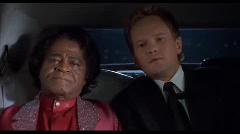 Undercover Brother - protecting James Brown
