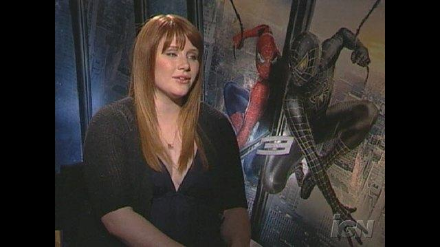 Spider-Man 3 Movie Interview - Bryce Dallas Howard