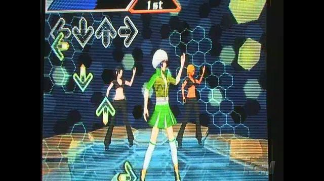 Dance Dance Revolution Hottest Party Nintendo Wii Gameplay - Everybody Dance Now (Off-Screen)