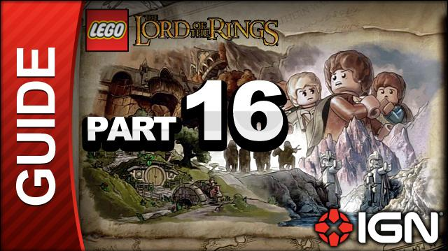 LEGO The Lord of the Rings Walkthrough Part 16 - The Battle of Pelennor Fields