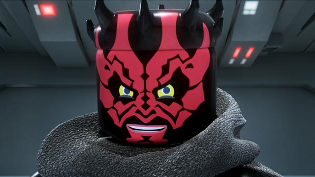 The Empire Strikes Out Clip - Darth Maul Is Back