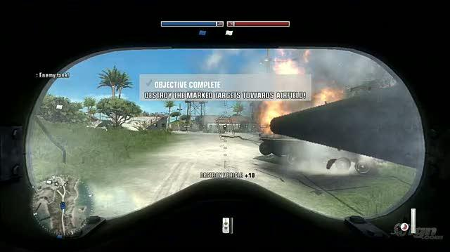Battlefield 1943 PlayStation 3 Gameplay - Tutorial