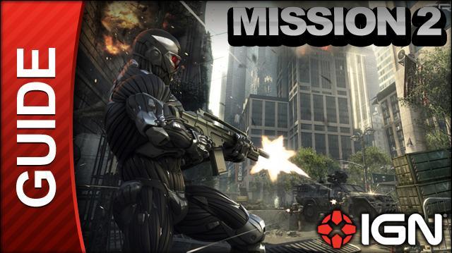 Crysis 2 - Mission 2 Sudden Impact - Walkthrough