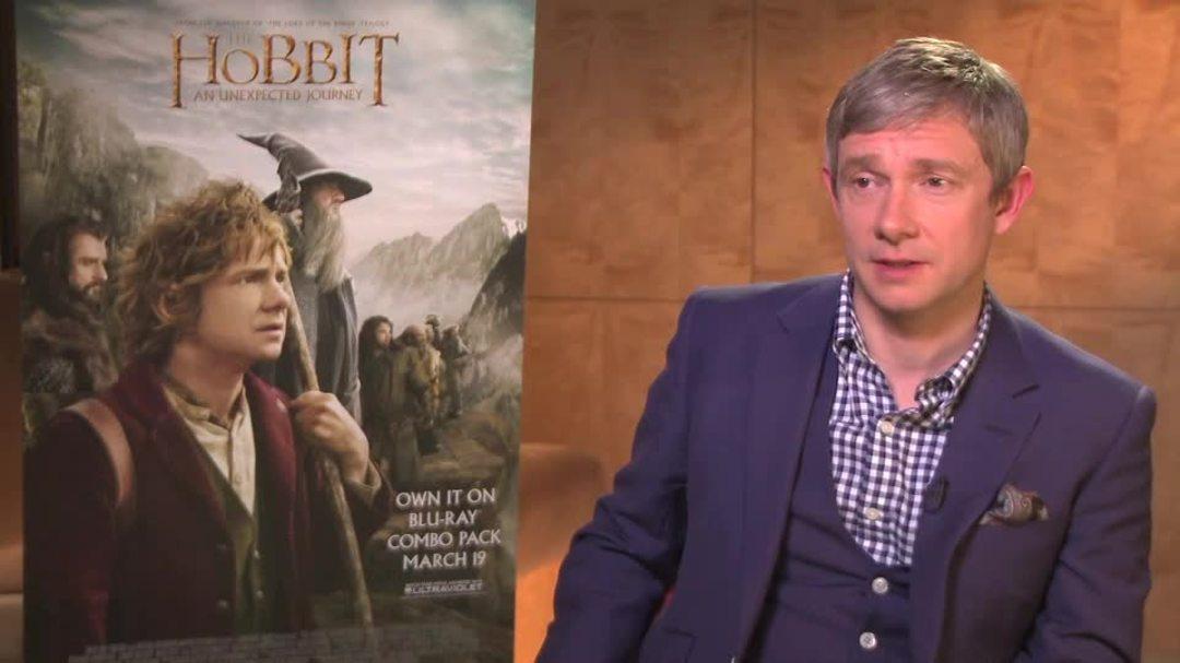 The Hobbit Martin Freeman Community Interview