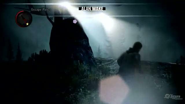 Alan Wake Xbox 360 Gameplay - Escape Police