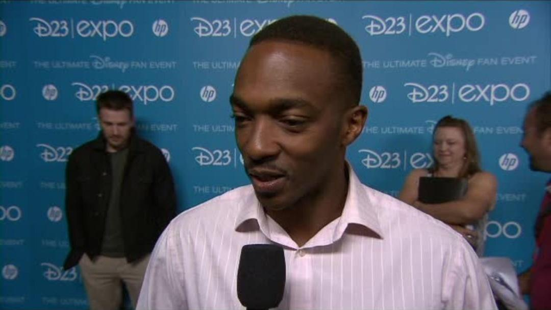 Captain America The Winter Soldier - Anthony Mackie - D23 Interview
