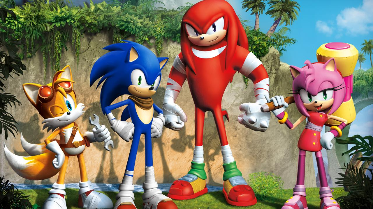 Sonic Boom Game Reveal Trailer