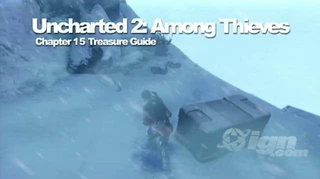 Uncharted 2 Among Thieves PlayStation 3 Guide-Secret - Walkthrough Chapter 15 Treasure Locations