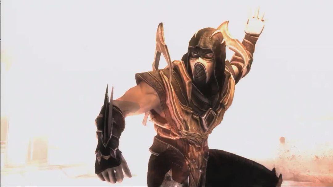 Injustice Gods Among Us - Scorpion History Trailer