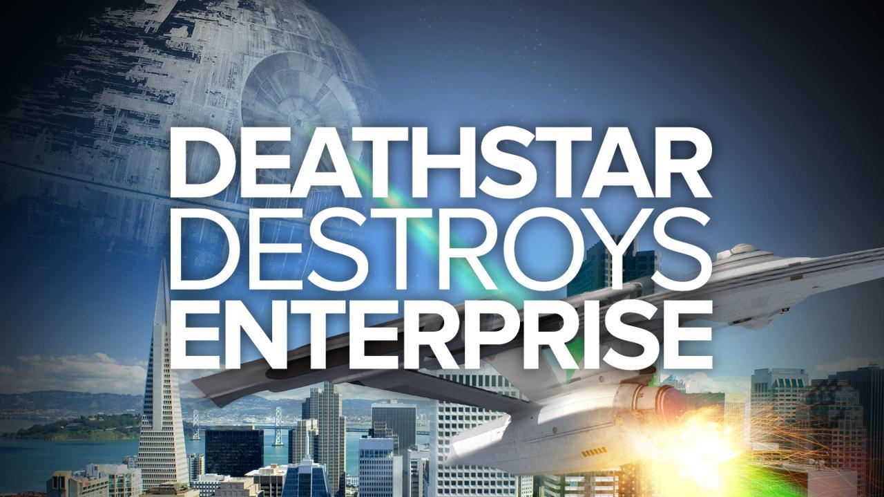 Death Star Destroys Enterprise (Special Edition)