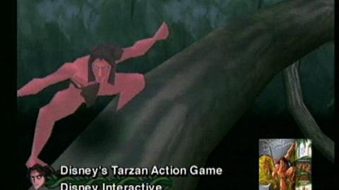 Disney's Tarzan Action Game (VG) (1999) - Win 95 95 CD-Rom