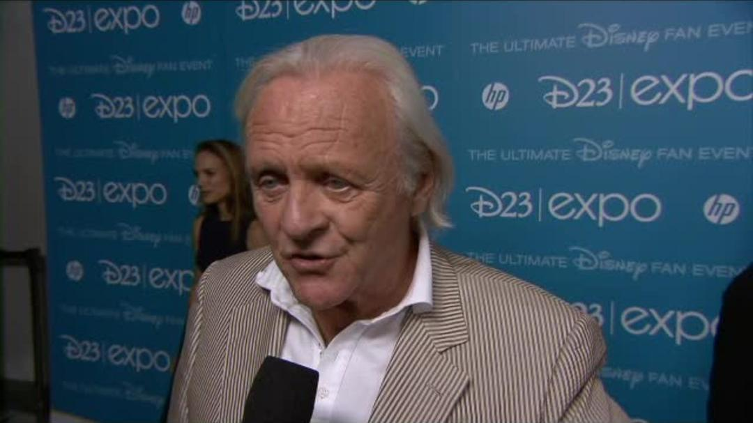 Thor The Dark World - Sir Anthony Hopkins - D23 Interview