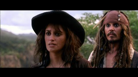 Pirates of the Caribbean On Stranger Tides (2011) - Clip Someone Has to Jump