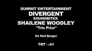 Divergent - Shailene Woodley Interview 'On Neil Burger'