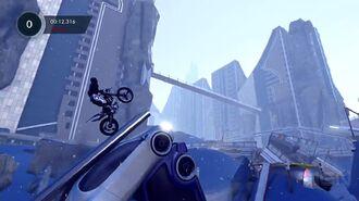Trials Fusion Deep Freeze Gameplay Clip