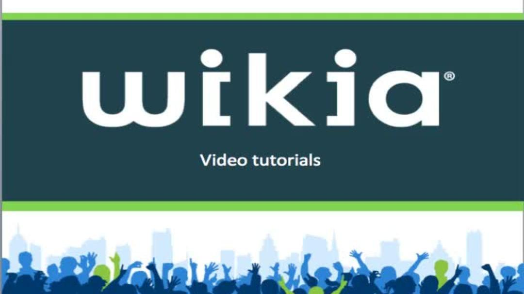 Tour the Wikia Editor