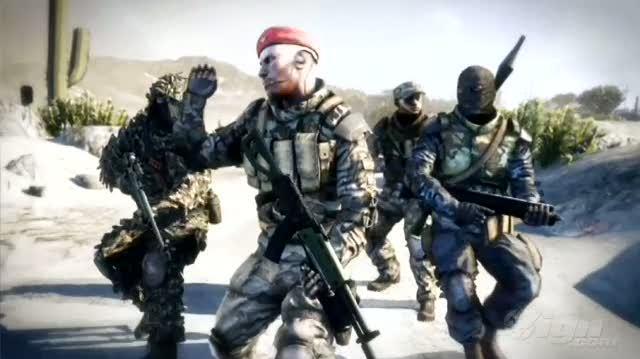 Battlefield Bad Company 2 Xbox 360 Trailer - GC 2009 Trailer
