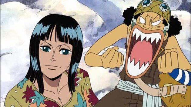 One Piece - Episode 139 - Legend of the Rainbow Mist! Old Man Henzo of Luluka Island!
