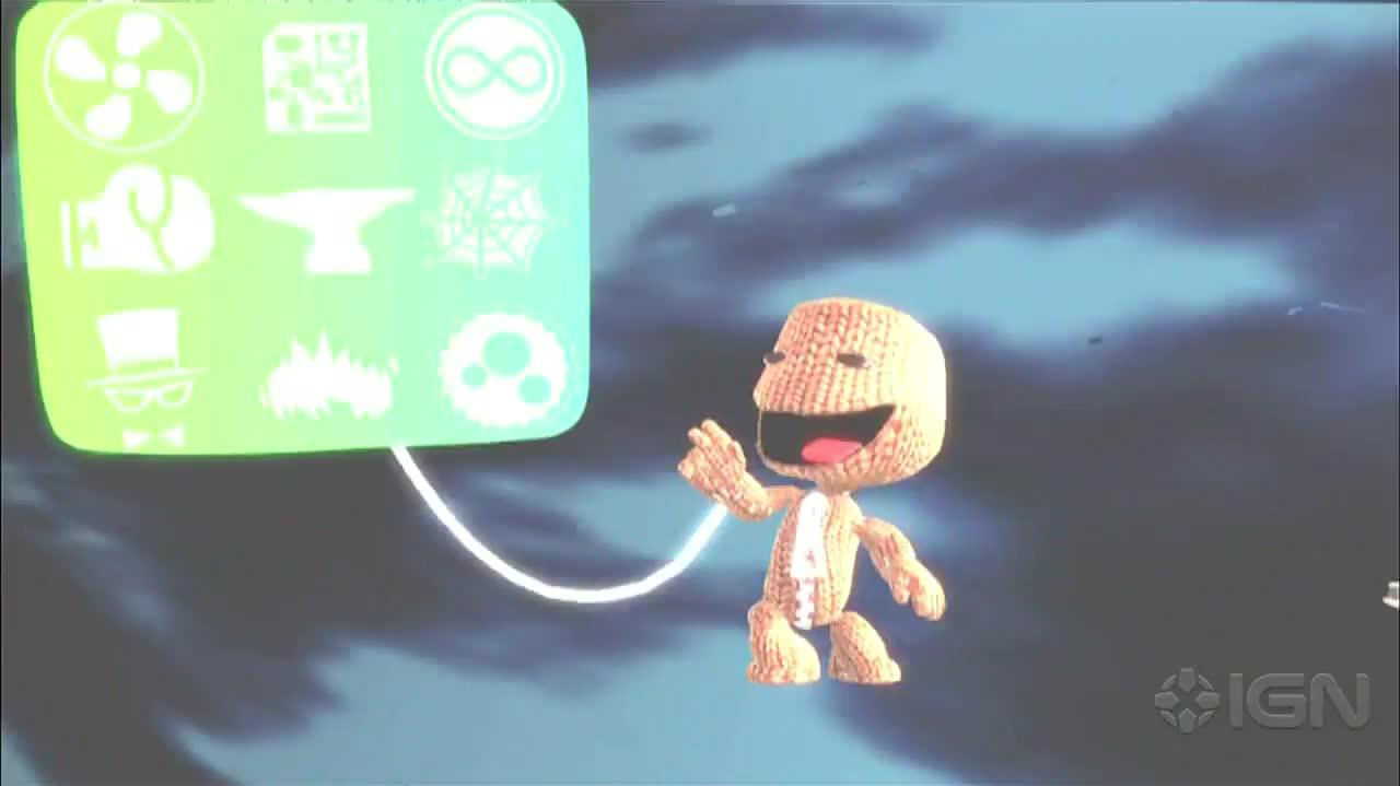 Welcome LittleBigPlanet's Sackboy to PlayStation All-Stars
