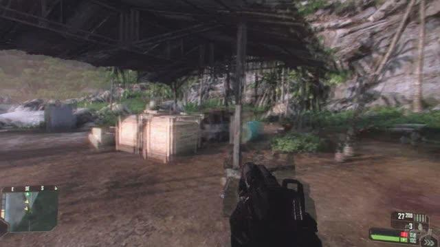 Crysis PC Games Gameplay - Throat Throw (HD Off-Screen)