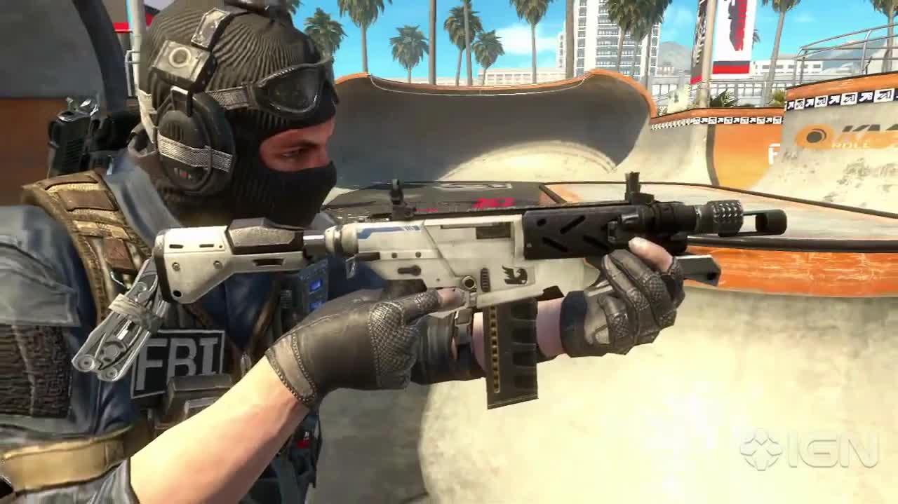 Call of Duty Black Ops 2 Revolution DLC Gameplay Trailer