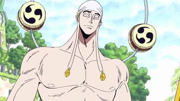 One Piece - Episode 180 - Showdown in the Ancient Ruins! Sky God Eneru's Goal!