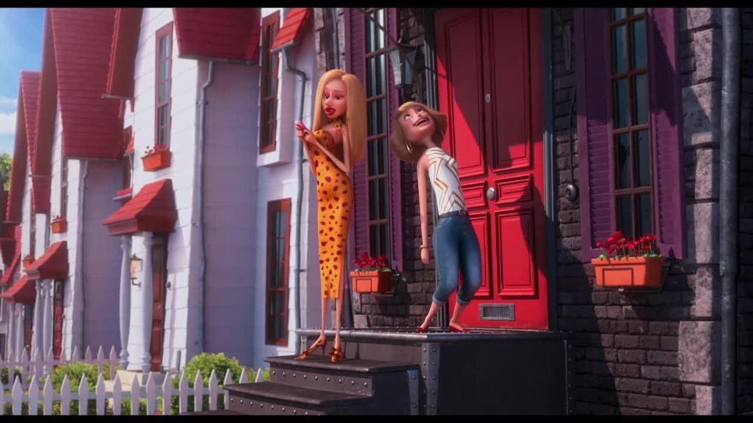 """Despicable Me - Clip """"Jillian Shows Up At Gru's House With A Potential Date"""""""
