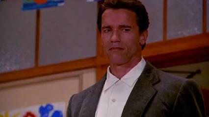 Kindergarten Cop - the new teacher