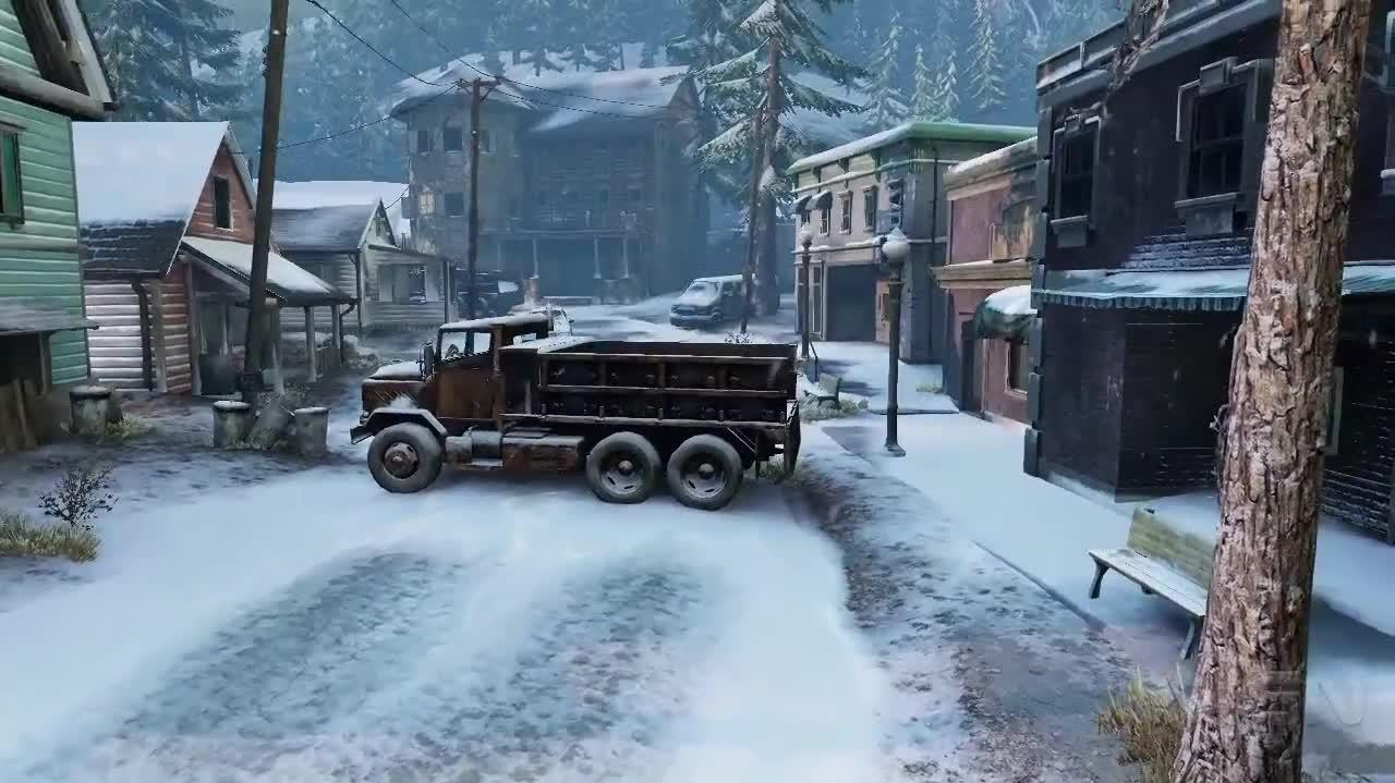 The Last of Us - The Snow-Ridden Map Called Lakeside