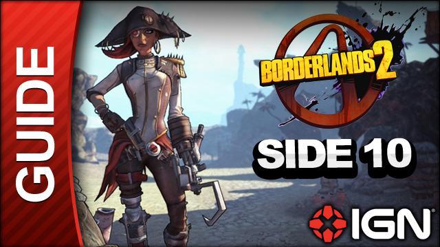 Borderlands 2 Captain Scarlett and Her Pirate's Booty DLC Walkthrough - Mans Best Friend - Side Mission (Part 10)