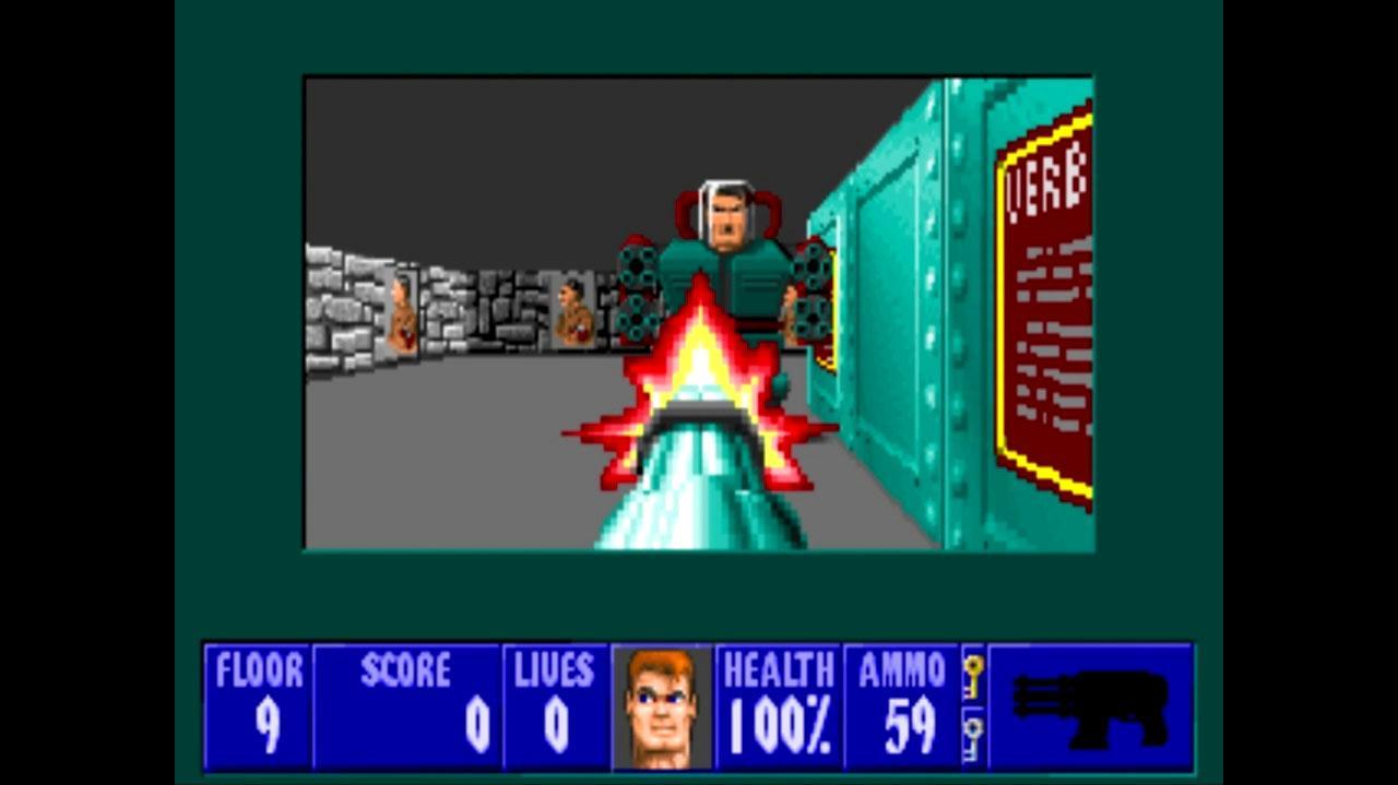 Castle Wolfenstein Fighting Mecha-Hitler