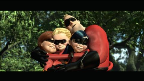 The Incredibles Blu-ray Release (2004) - Clip Violets Forcefield