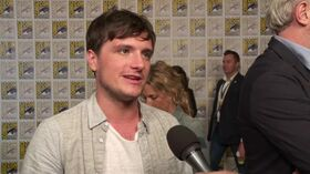 The Hunger Games - Mocking Jay Pt2 Comic-Con Josh Hutcherson Interview