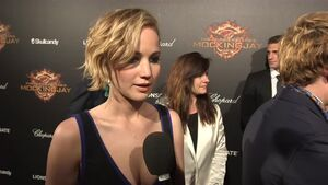 The Hunger Games Mockingjay Part 1 - Jennifer Lawrence Interview