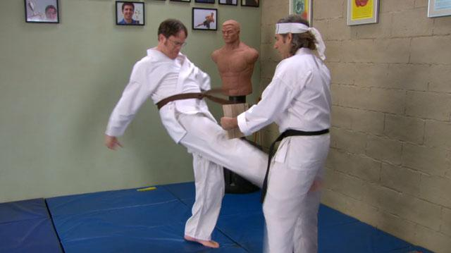 The Office Dwight's Martial Arts Skills