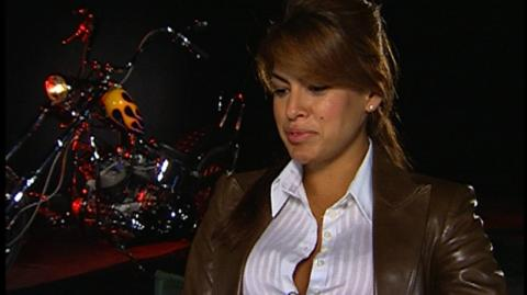 Ghost Rider (2006) - Interview Eva Mendes On Ghost Rider being the ultimate bad boy