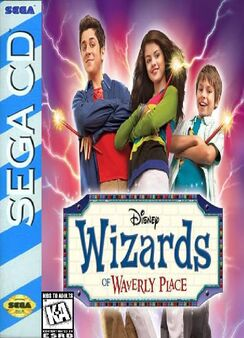 Wizards of Waverly Place SEGA CD Boxart