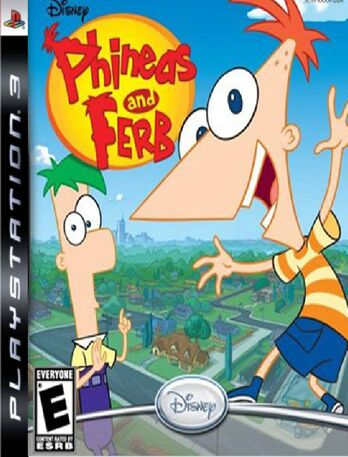 Phineas and Ferb Playstation Party Cover