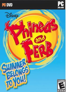 Phineas and Ferb Summer Belongs to You PC Box art